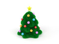 Cute Christmas tree Stock Image
