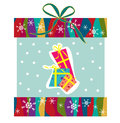 Cute Christmas vector Royalty Free Stock Image