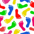 Cute And Colorful Baby Footpri...
