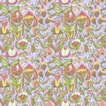 Cute colorful floral seamless pattern with abstract flower endless can be used for wallpaper backdrop Royalty Free Stock Photo