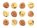 Cute Cookie Background Royalty Free Stock Image
