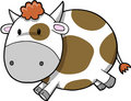 Cute Cow Vector Illustration Stock Photography
