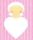 Cute cupid_2 Stock Photo