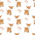 Cute deer pattern