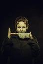 Cute demon Royalty Free Stock Photo