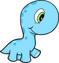 Cute Dinosaur Vector Royalty Free Stock Photos