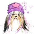 Cute Dog. Dog T-shirt Graphics...