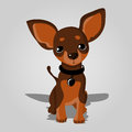 Cute dog vector illustration of a Royalty Free Stock Photo