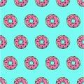 Cute donat pattern