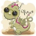 Cute Dragon with sun glasses