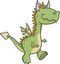 Cute Dragon Vector Illustration Royalty Free Stock Photo