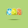 Cute Easter egg background Royalty Free Stock Images