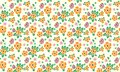 Cute of Easter egg pattern background, with seamless leaf and flower design