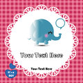 Cute elephant Stock Photo