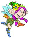 Cute fairy Stock Image