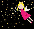 Cute Fairy Princess Royalty Free Stock Photography
