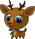 Cute fashion deer  illustration Royalty Free Stock Photos