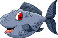 Cute fish cartoon for you design illustration of Royalty Free Stock Photography