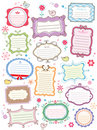 Cute frames Royalty Free Stock Photos