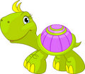 Cute funny turtle