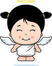 Cute Girl Angel Royalty Free Stock Images