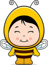 Cute Girl Bee Stock Photos