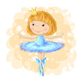 Cute girl vector Romantic hand drawing poster cartoon character For apparel or other uses in vector pretty graphic