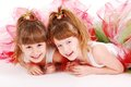 Cute girls Royalty Free Stock Photo