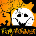 Cute Halloween illustration Stock Photos