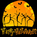 Cute Halloween illustration Royalty Free Stock Image