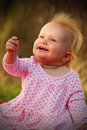 Cute happy baby