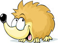 Cute hedgehog - vector illustration Royalty Free Stock Photo