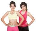 Cute Hispanic Workout Girls Royalty Free Stock Photo