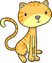 Cute House Cat Vector Royalty Free Stock Image