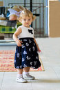 Cute infant image of the beautiful girl Royalty Free Stock Images