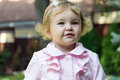Cute infant image of the beautiful girl Royalty Free Stock Photo