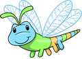 Cute Insect Vector Illustration Royalty Free Stock Photo