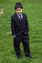 Cute kid Formally Dressed Stock Photography