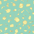 Cute kitchenware pattern