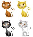 Cute Kittens Clip Art Stock Images