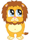 Cute lion Royalty Free Stock Photography