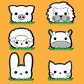 Cute Little Animal Set
