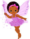 Cute little baby fairy Stock Photos
