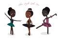 Cute little ballerinas