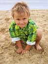 Cute little boy Stock Photo