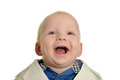 Cute little boy laughing Royalty Free Stock Photo