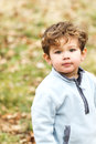Cute little boy looking at the camera sweet Stock Images