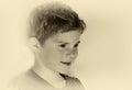 Cute little boy Royalty Free Stock Photo