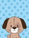 Cute little dog character