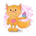 Cute little Fox with kapkejkom.